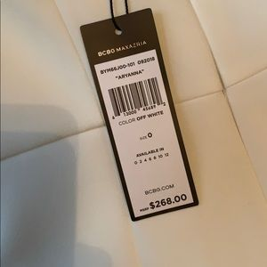 """59aaf061191 BCBGMaxAzria Dresses - BCBG Maxazria """"Aryanna"""" off white mini dress"""